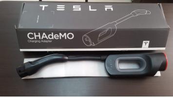 Купить CHAdeMO адаптер Tesla