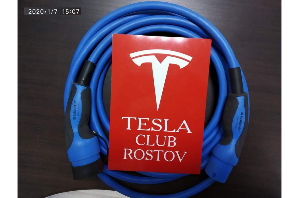 Кабель Type2 с IEC62196-2 для Tesla